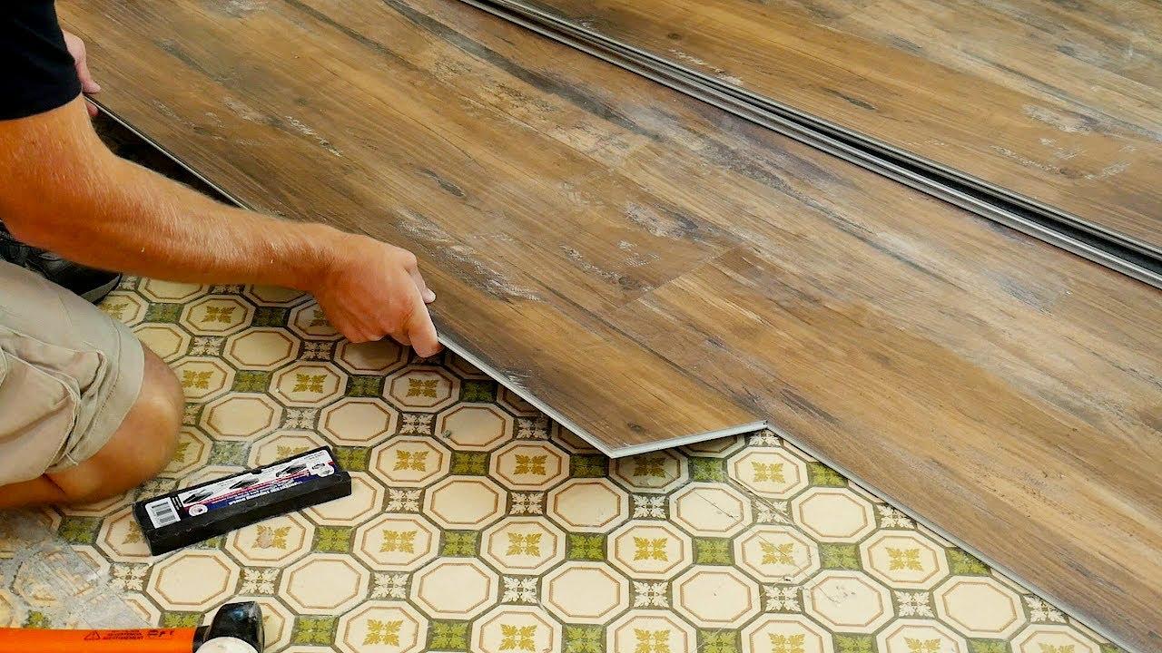Vinyl Floor Installation How To, Vinyl Plank Flooring Over Laminate