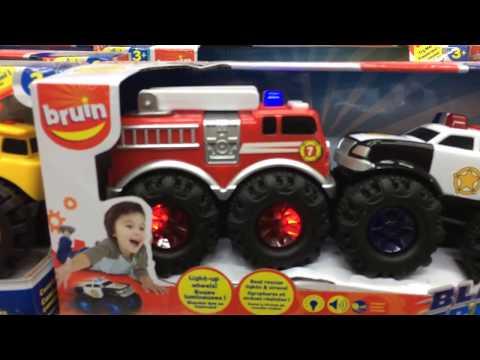 Blazing Treadz Rescue Squad Toys