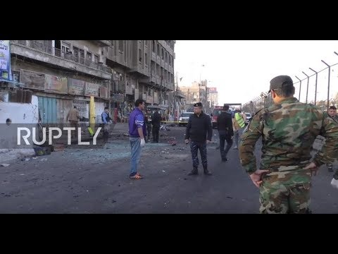 Iraq: Dozens killed by double suicide blast in Baghdad