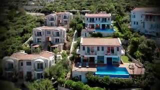 Antalya Kaş Yarımada'da, Havuzlu, Lüx Eşyalı Satılık Villa