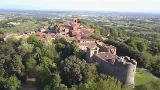 Montecarlo - Lucca visto da una prospettiva diversa in 4K