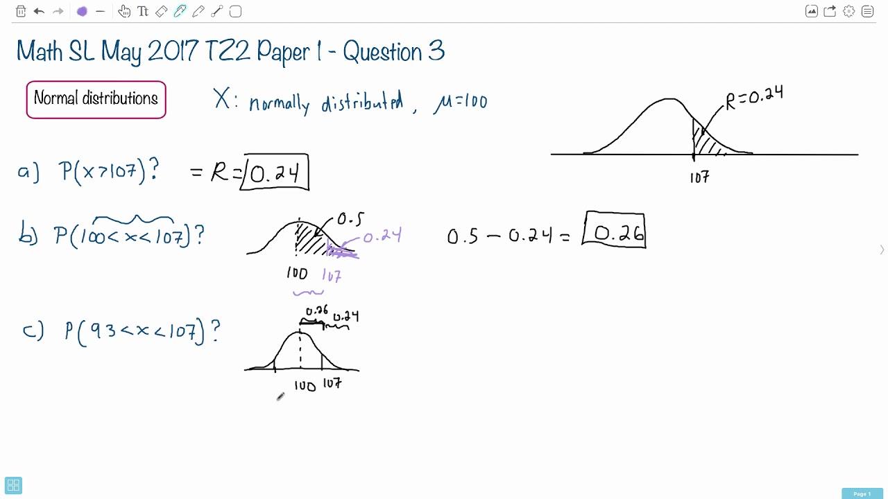 Question 3c — IB Math SL — May 2017 TZ2 Paper 1 — Past IB Exams Solutions
