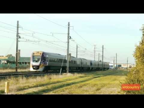 Australian Trains and Railways: Hoppers Crossing, Victoria