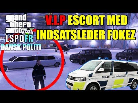 GTA V LSPD:FR - V.I.P. ESCORT MED INDSATSLEDER FOKEZ - DANSK POLITI [#33]
