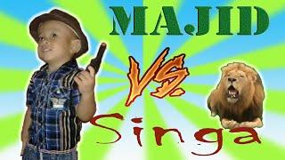 Majid Vs Singa   Parodi Abal-Abal Part 3