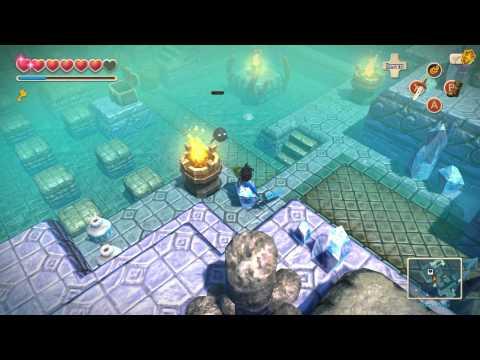 Oceanhorn Monster Of Uncharted Seas Gillfolk's Drop 100% Complete WALKTHROUGH (PC/iOS) [HD]