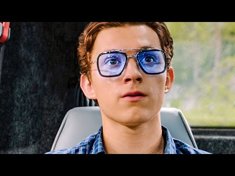 Peter discovers Iron Man's EDITH Scene