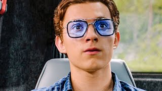 Peter discovers Iron Man's EDITH Scene - SPIDER-MAN: FAR FROM HOME (2019) Movie Clip