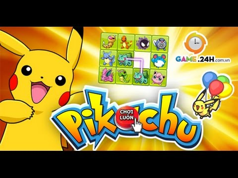 Game pikachu 2012 - Video hướng dẫn chơi game 24h