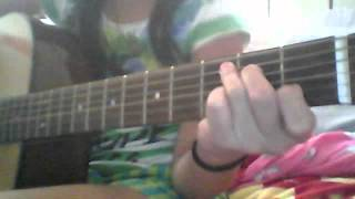 How to play Baby by:Justin Bieber on guitar