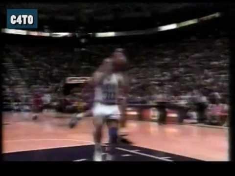 1992 NBA In your face jams - Playoffs Jordan, Blue Edwards