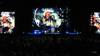 Sweet Child O' Mine - Guns N' Roses live @ Mexico City