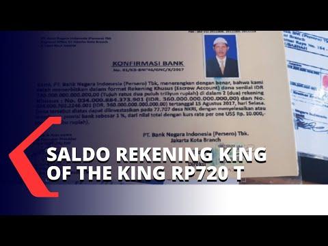 VIRAL! Saldo Rekening King of The King di Bank Rp720 Triliun, Ini Penjelasannya...