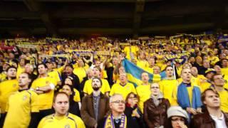 Nationalsången Holland-Sverige