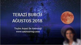 TERAZİ Burcu Ağustos 2018 Astroloj