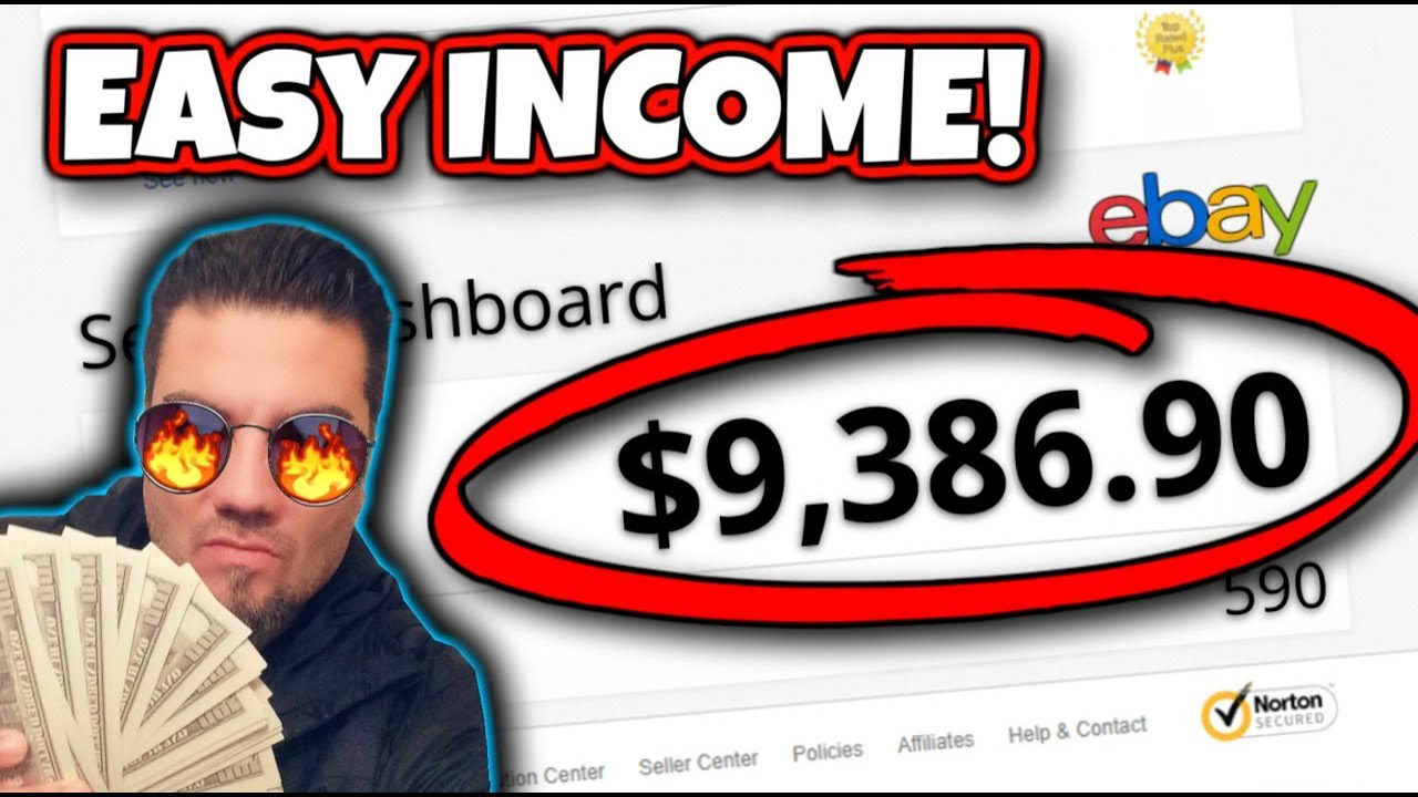 How To Make Money On Ebay Without A Product Earn Money Online Fast And Easy In 2019 Youtube