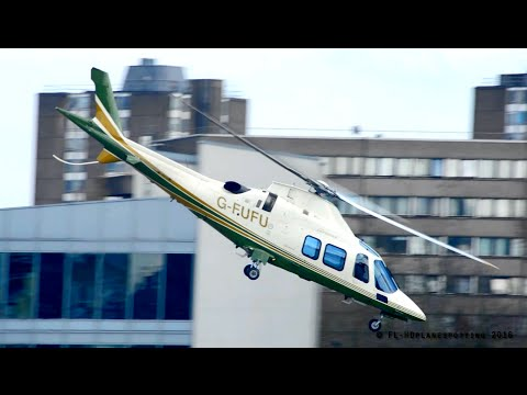 *Incredible departure* Agusta-Westland A109 Grand at London