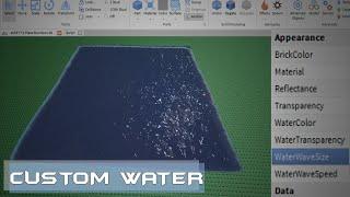 Roblox Custom Water Tutorial