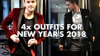 4 Outfit's for New Years Eve 2018 - Mens fashion and lifestyle