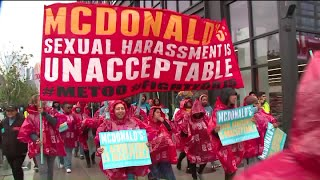 McDonald`s offering training to combat harassment after 25 new sexual harassment charges