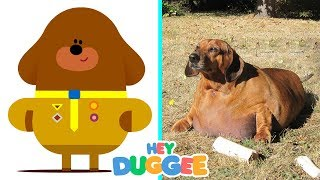 Hey Duggee Characters In Real Life | All Characters 2017