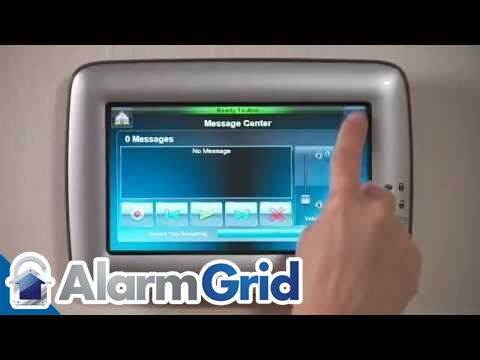 White Honeywell Ademco 6280W Color Touch-Screen Keypad w// Voice