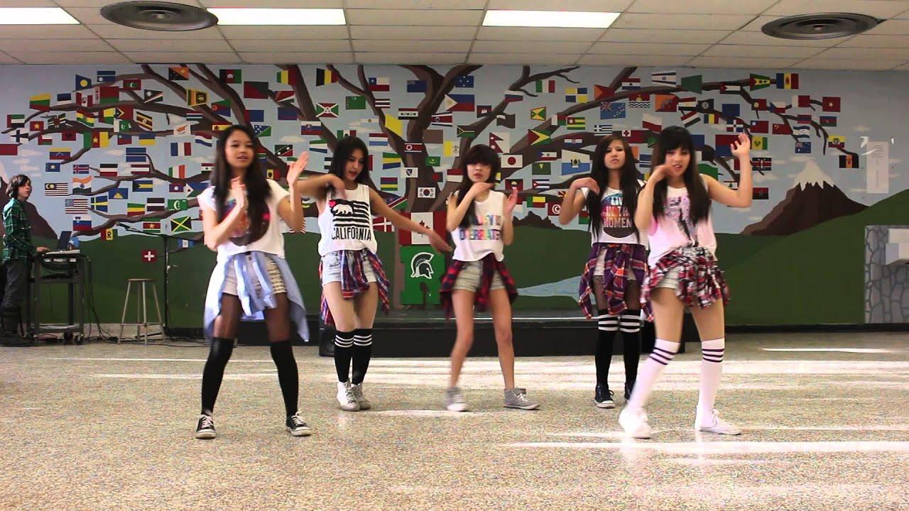 Nepali girls dancing at school in hindi movie songs youtube