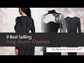 9 Best Selling long sleeve Dresses By Ifashion, Winter 2017
