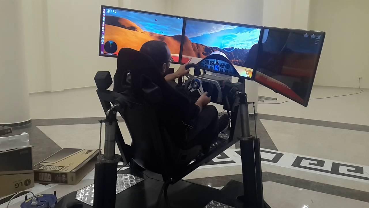 Flight 4 Real - 3 DOF Flight Simulator