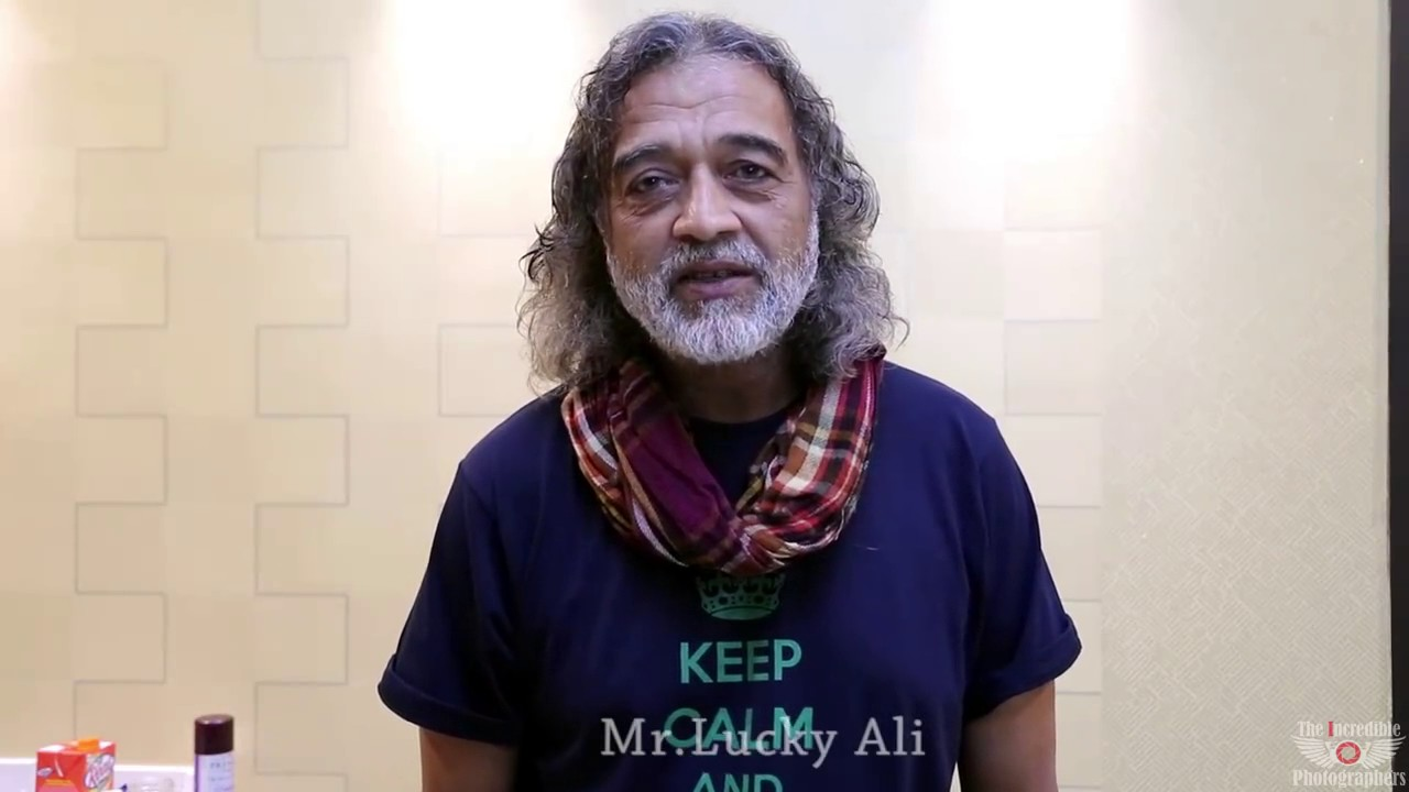 Lucky Ali Message to The Incredible Photographers