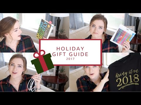 Holiday Gift Guide 2017 | 33 Easy Gift Ideas!