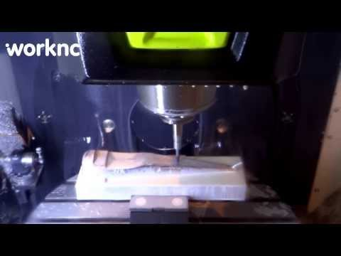 CNC - CAD/CAM Biplane machining with WorkNC