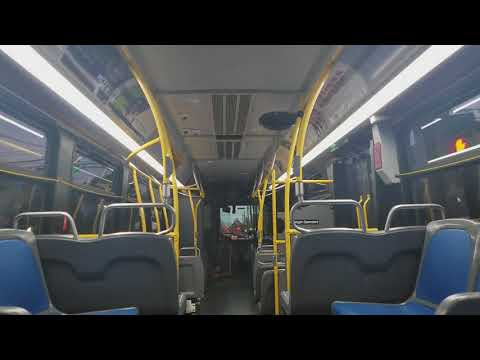 On board 2016 Nova LFS 8296 on the S44 to S I Mall