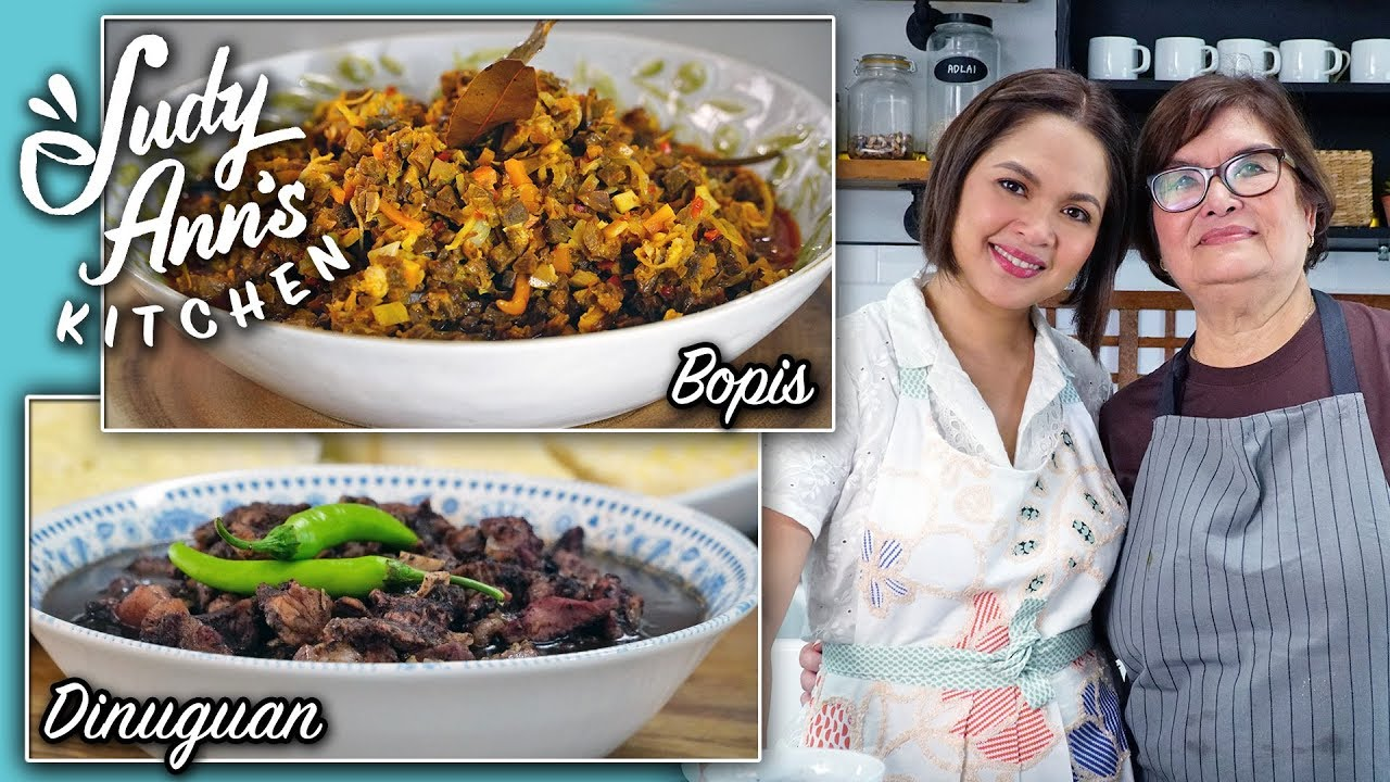 Judy Ann S Kitchen 13 Ep 3 Dinuguan And Bopis Heritage Recipes Steemit