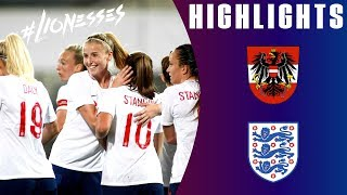Austria 0-3 England | Debutants Stanway and Ubogagu Score as Lionesses Cruise | Lioness Highlights