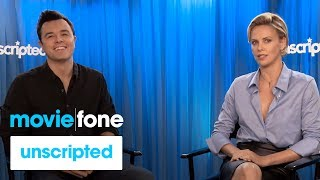 'A Million Ways to Die in the West' | Unscripted | Seth MacFarlane, Charlize Theron