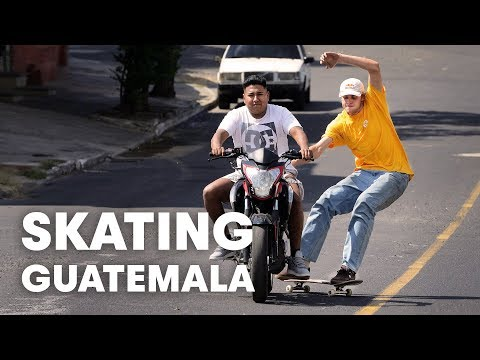 Jaakko, Madars and Friends Skating Guatemala, Belize and Mexico