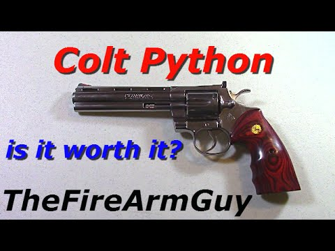 Rick Grimes $2000 Colt Python - Is It Worth It? - TheFireArmGuy
