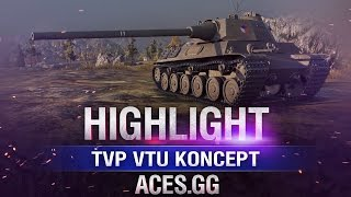 Что у нас на Штурме? TVP VTU Koncept в World of Tanks!
