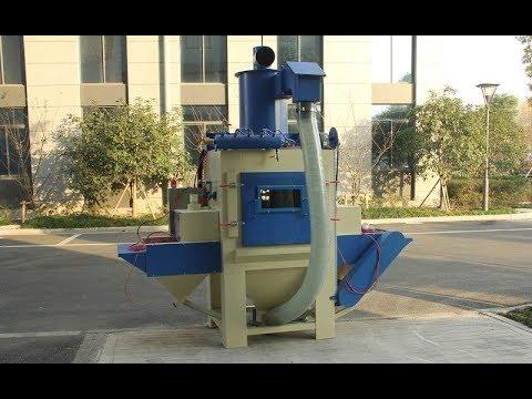 Automatic Sandblaster For Sale, Conveyor Belt Blast Cabinet