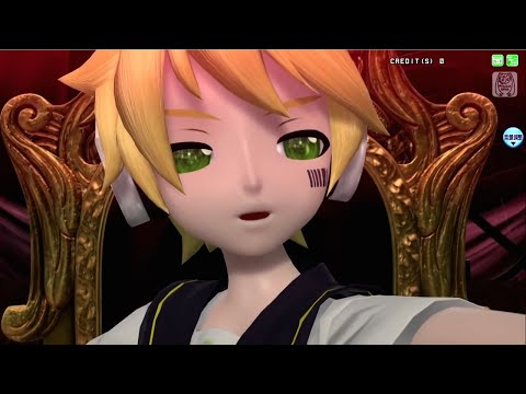 Project DIVA Arcade Future Tone   Ashes to Ashes   Kagamine Len cover
