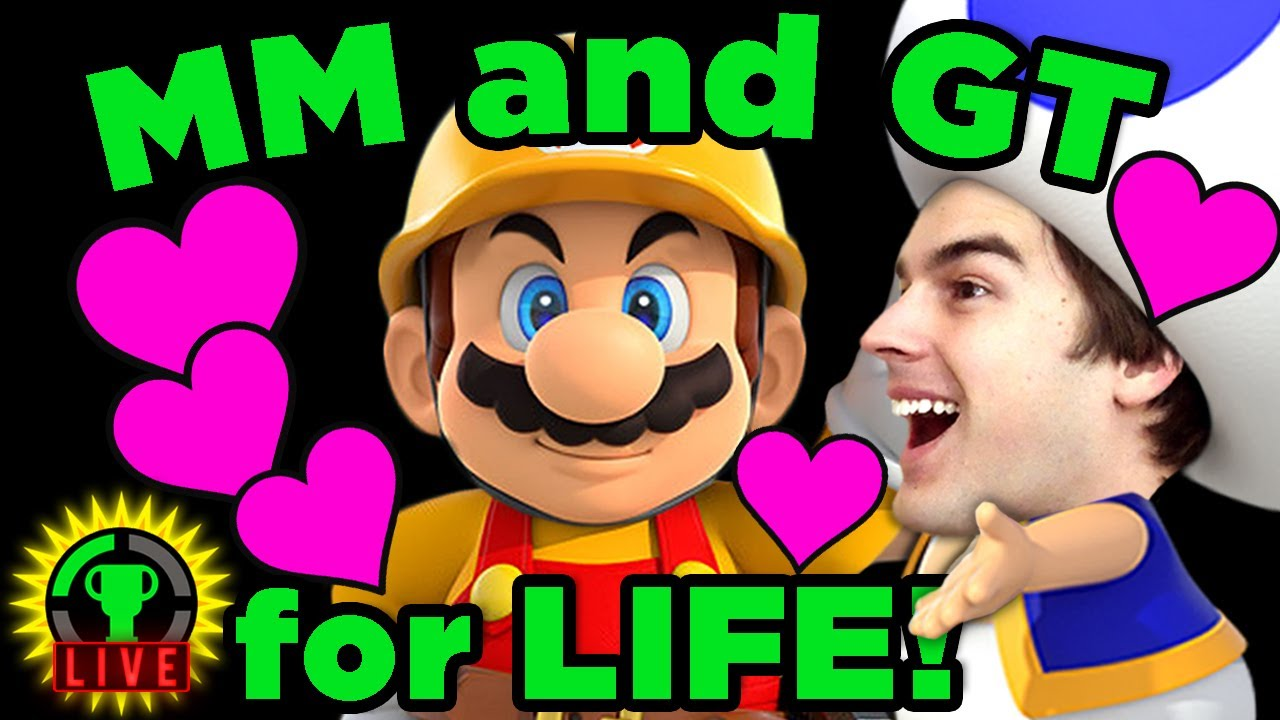 Mario Maker - STRANGE Life Goals! (UNEDITED)