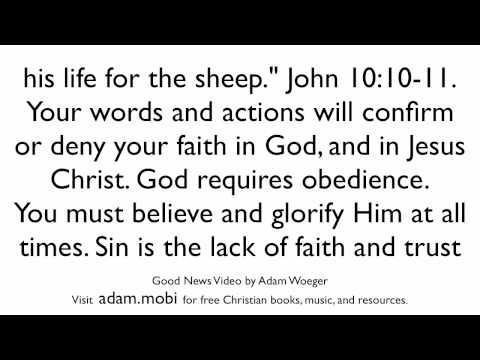 Good News - The Gospel - Christian Evangelism Video - Salvation - Bible Verse Video - KJV