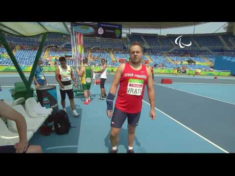 Athletics | Men's Javelin - F38 Final  | Rio 2016 Paralympic Games