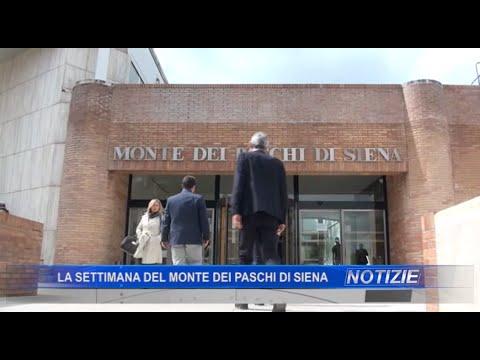 La settimana del Monte dei Paschi di Siena