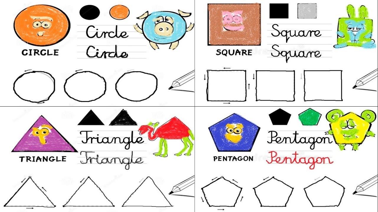 Shapes Worksheet For Preschool