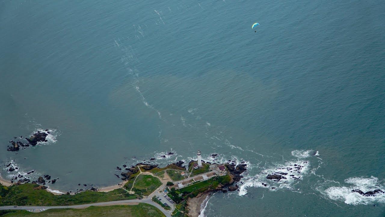Paramotoring From Pacifica To Santa Cruz Almost