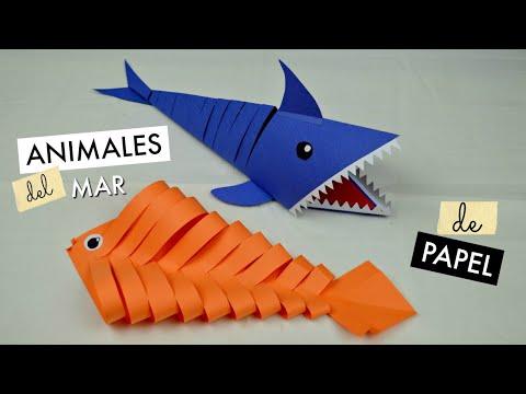 Animales del Mar de Papel│Espacio Creativo