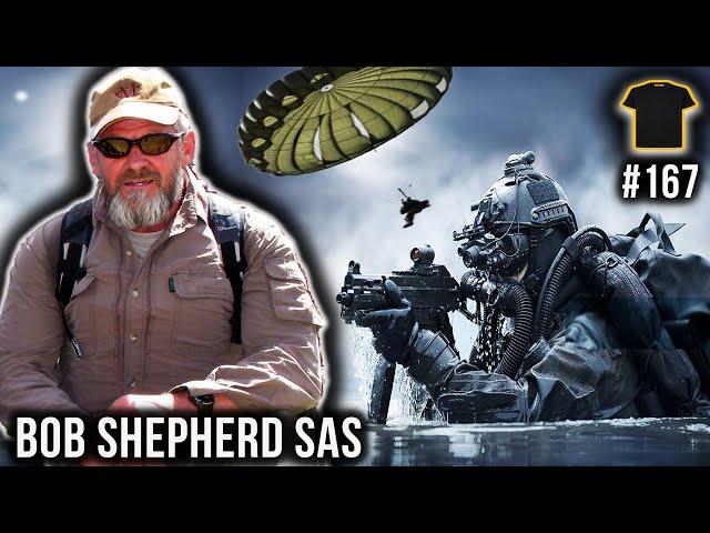 SAS | Parachuting Into The South Atlantic | Iranian Embassy Siege | Bob Shepherd Special Air Service