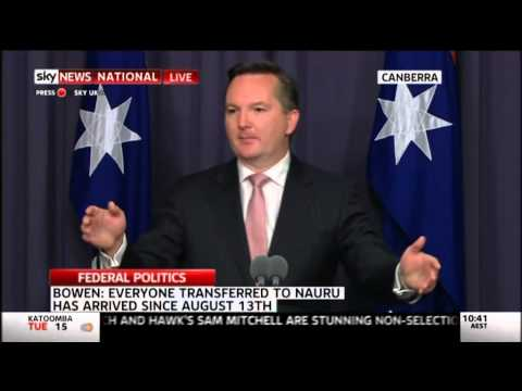 Press Conference - Transfers to Nauru